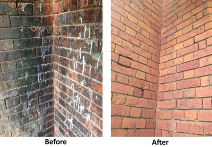 Brick and Stone Chemical Cleaning Services by Cleanpoint Restoration at cleanpointrestoration.com