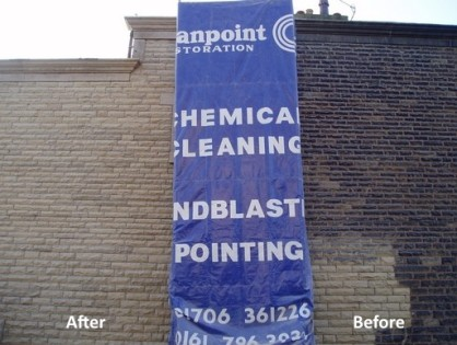 Sandblasting Stone Services by Cleanpoint Restoration at cleanpointrestoration.com